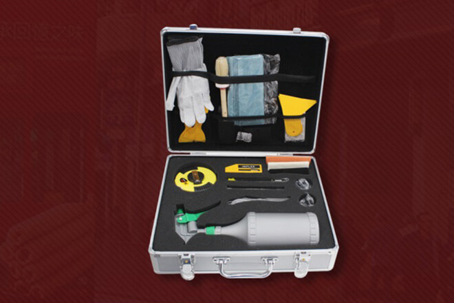 One INFLEX tool box is available for customer